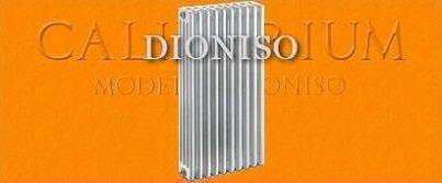 Radiatore / termosifone acciaio Dioniso