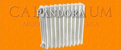 Radiatore / termosifone acciaio Pandora