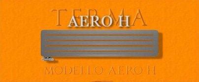 Termoarredo Terma Aero H