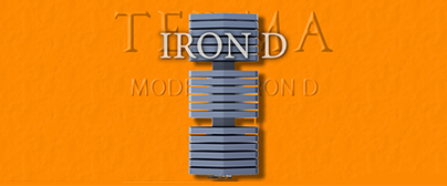Termoarredo Terma Iron D
